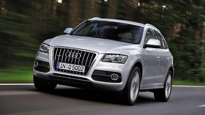 Für Fans der hohen Sitzposition, die nicht auffallen wollen: der Audi Q5.