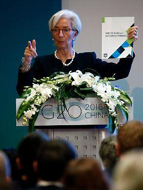 Lagarde stimmte Schäuble zu.
