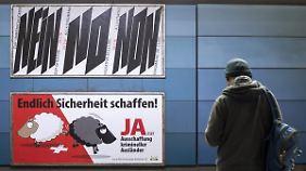 Die rechtsnationale Schweizerische Volkspartei bekommt Gegenwind: Nein zur unmenschlichen SVP-Initiative.