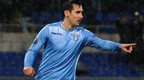 Er kann´s noch immer: Mit 37 Jahren begeistert Miro Klose die Lazio-Anhänger.