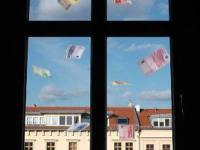 Geld zum Fenster rausgeschmissen?
