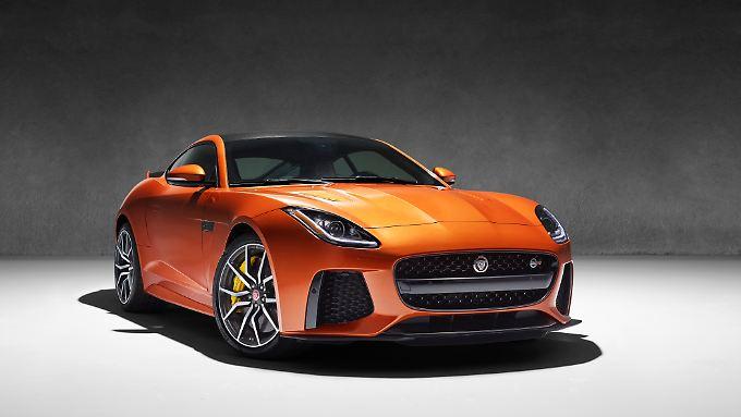 Mit dem SVR verschärft Jaguar den F-Type noch einmal.