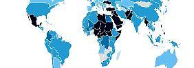 Die Konflikte des Jahres 2015 auf einen Blick (Quelle: Konfliktbarometer 2015, Heidelberger Institut für Internationale Konfliktforschung).