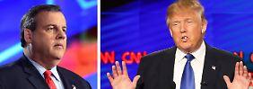 Unterstützung aus eigenen Reihen: Chris Christie wirbt für Donald Trump