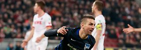 Ibisevic trifft in Köln: Hertha festigt Champions-League-Platz