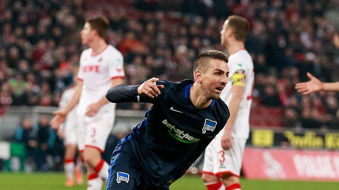Vedad Ibisevic erzielte gegen Köln das entscheidende Tor.