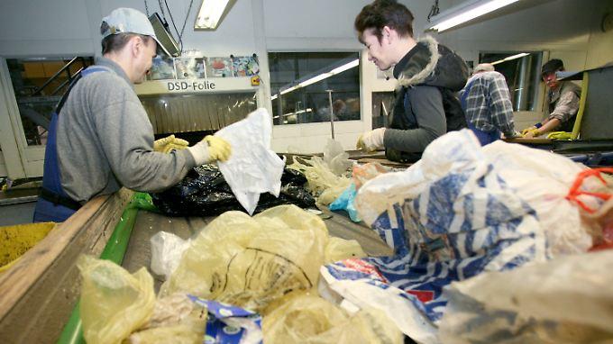 Müll ist gerade vor allem Müll und nicht so sehr Rohstoff.
