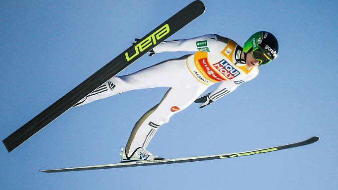 Peter Prevc ist der Überflieger der aktuellen Skisprung-Saison.