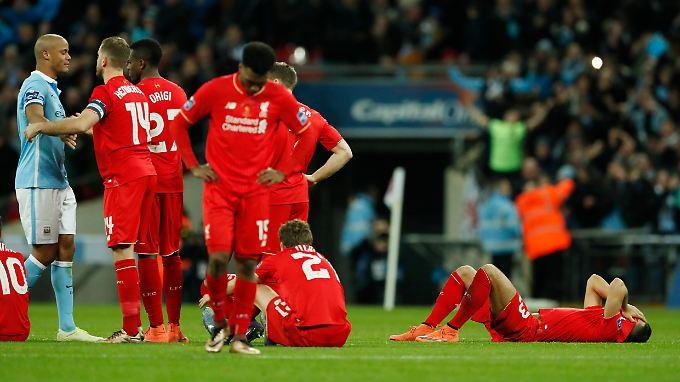 Aus der Traum: Liverpool scheitert im Elfmeterschießen.