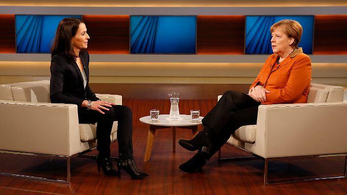 Kanzlerin Merkel lässt sich selten auf Talksendungen ein. Bei Anne Will war sie nun schon zum zweiten Mal innerhalb kurzer Zeit.