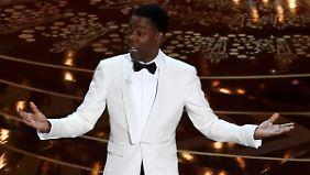 Moderator Chris Rock kritisierte zu Beginn der Show, dass nur weiße Schauspieler nominiert sind.