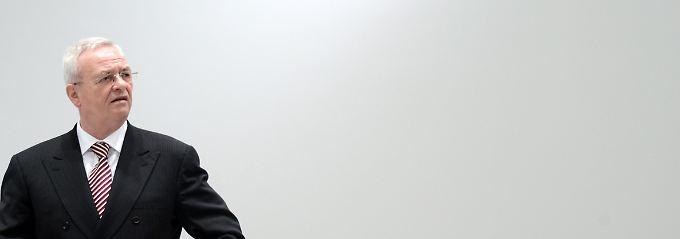 VW-Chef Winterkorn trat im vergangenen Jahr im Zuge des Abgas-Skandals zurück.