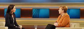 """""""Bin manchmal auch verzweifelt"""": Angela Merkel rückt nicht von ihrem Kurs ab"""