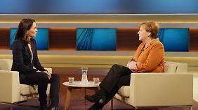 """""""Bin manchmal auch verzweifelt"""": Angela Merkel erteilt Kritikern ihrer Flüchtlingspolitik eine Absage"""