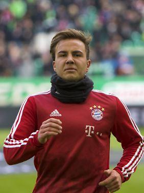 """""""Wir haben sieben Außenstürmer und ich muss eine Entscheidung treffen"""": Mario Götze in Wolfsburg."""