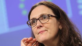 """Cecilia Malmström: """"Das ist eine sehr gute Nachricht."""""""