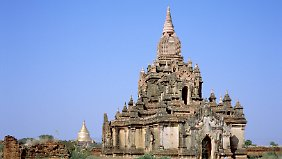 Buddhistischer Tempel in Bagan.