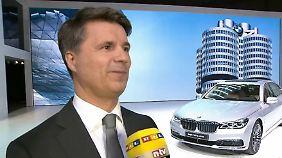 """BMW-Chef Krüger in Genf: """"Elektromobilität ist ein Marathon und kein Sprint"""""""