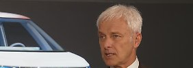 """VW-Chef Müller im Interview: """"Wir wollen uns nicht lähmen lassen"""""""