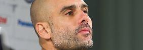 Josep Guardiola freut sich darüber, dass Uli Hoeneß wieder auf freiem Fuß ist.