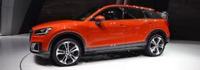 Der Audi Q2 ist die Antwort auf BMW X1 und Mercedes GLA. VW verspricht sich von dem kleinen Offroader großes.