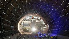 Der längste Tunnel der Welt: Durchstich am Gotthard-Basistunnel