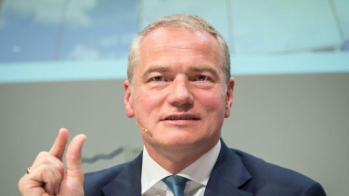 """""""Mir liegt der Finanzplatz Frankfurt Rhein/Main sehr am Herzen"""": Carsten Kengeter, Vorstandsvorsitzender der Deutsche Börse AG."""