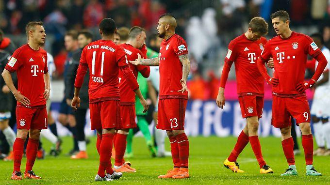 Das ist neu: Der FC Bayern verliert zum ersten Mal in dieser Saison ein Heimspiel.