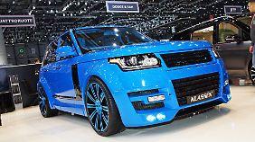 Der Rover von Klassen dürfte bei größeren Bodenwellen Probleme bekommen.