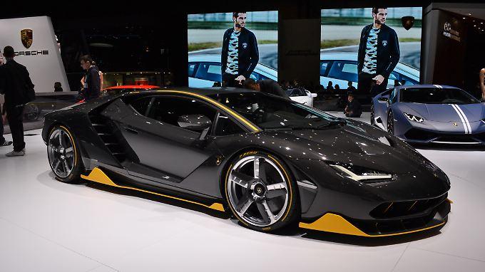 Ein feuriger Italiener ist der Lamborghini Centenario LP770-4.