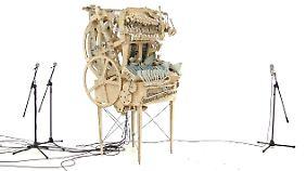 Faszinierende Tüftlerleistung: Die Marble Machine ist komplett handgemacht.