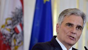 """Grenzöffnung """"ein schwerer Fehler"""": Österreich verteidigt seine Flüchtlingspolitik"""