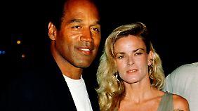 Simpson, seine damalige Frau Nicole und die gemeinsamen Kinder im Jahr 1994.