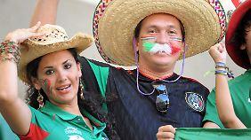 So sieht Fan-Jubel in Mexiko aus.