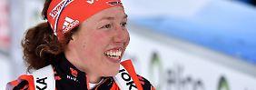 Biathlon-Herren ohne Medaillen: Dahlmeier fliegt zu WM-Bronze im Sprint