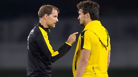 Bestbesetzung beim BVB heißt: Mats Hummels ist als Abwehrchef dabei.