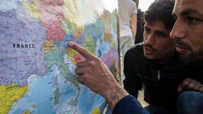 Die Flüchtlinge sollen sich keine Hoffnung machen, heißt es jetzt aus Wien.