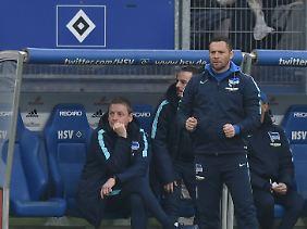 Pal Dardais Herthaner bleiben dennoch Dritter in der Bundesliga.