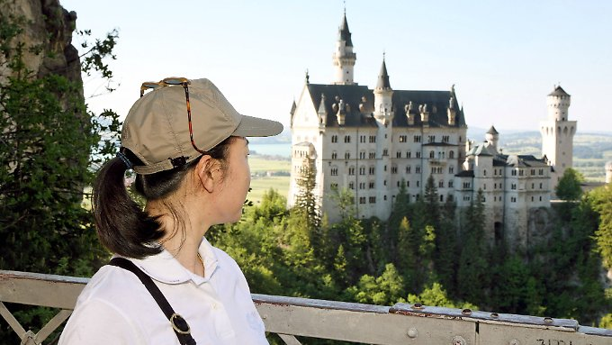 Für chinesische Touristen gibt es in Deutschland strikte Visa-Auflagen.