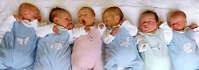 Ein Baby namens Schnuckelpupine: Deutsche Namen werden immer kreativer