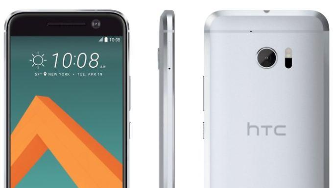 5,15-Zoll-Schönling im Metallkleid: Das HTC 10 auf geleakten Renderings.