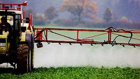Auf vielen Feldern Deutschlands kommt Glyphosat zum Einsatz.