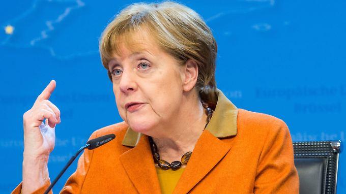 Kanzlerin Angela Merkel hält den angestrebten Pakt zwischen der EU und der Türkei für vertretbar.