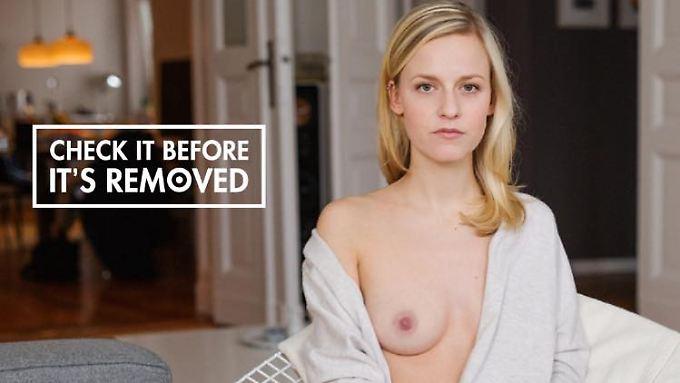 """""""Untersuche sie, bevor sie entfernt werden muss"""": Die Kampagne will die Brustkrebs-Vorsorge unterstützen."""