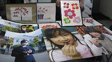 Zeichnungen krebskranker Kinder aus der Präfektur Fukushima: Vielfach wurde Schilddrüsenkrebs festgestellt. Die japanischen Behörden hatten es nach dem GAU versäumt, schützende Jodtabletten zu verteilen.