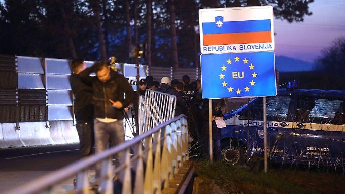 Balkanroute geschlossen: Slowenien löst Kettenreaktion aus