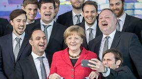 DHB-Team schon mit dem Kopf in Rio: Merkel empfängt EM-Helden