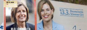 Forsa-Umfrage zu Landtagswahlen: Dreyer und Klöckner vor Fotofinish