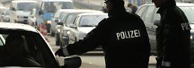 Grenzkontrolle an der deutsch-schweizerischen Grenze (Archivbild)