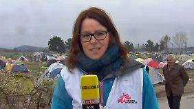"""Ärzte ohne Grenzen in Idomeni: """"Europa guckt zu, wie sich die humanitäre Krise verschärft"""""""